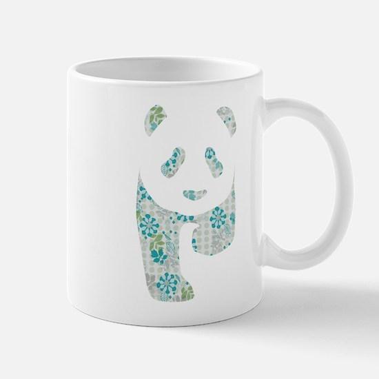 Floral Panda Mug
