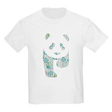 Floral Panda T-Shirt