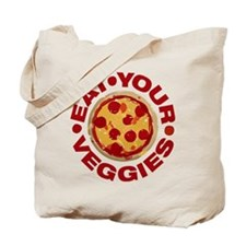 Pizza is not a Veggie Tote Bag