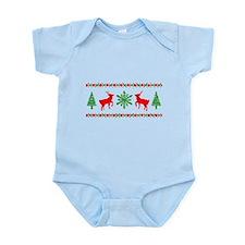 Ugly Christmas Sweater Infant Bodysuit