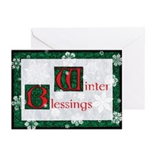 Winter Blessings Greeting Cards (Pk of 10)