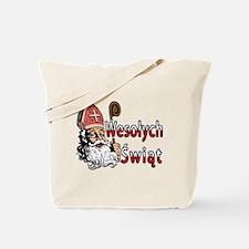 Wesolych Swiat St. Nicholas Tote Bag