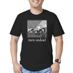 Turn Undead Men's Fitted T-Shirt (dark)