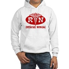 Rescue Ninja Nurse Jumper Hoody