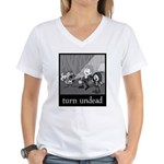 Turn Undead Women's V-Neck T-Shirt