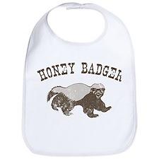 Vintage Honey Badger Bib
