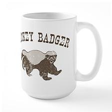 Vintage Honey Badger Mug