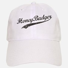 Team Honey Badger [b/w] Baseball Baseball Cap