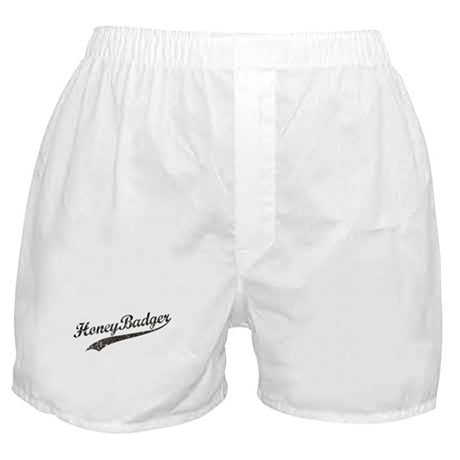Team Honey Badger [b/w] Boxer Shorts