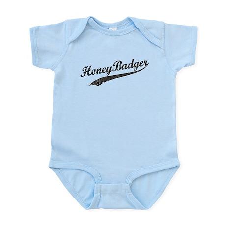Team Honey Badger [b/w] Infant Bodysuit