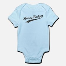 Team Honey Badger [b/w] Infant Bodysuit