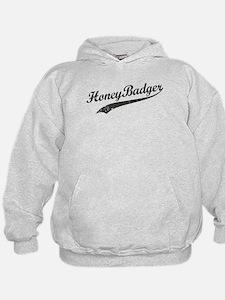 Team Honey Badger [b/w] Hoodie