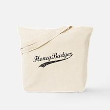 Team Honey Badger [b/w] Tote Bag