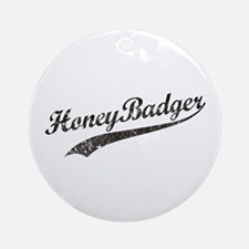 Team Honey Badger [b/w] Ornament (Round)