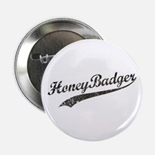 "Team Honey Badger [b/w] 2.25"" Button"