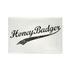 Team Honey Badger [b/w] Rectangle Magnet