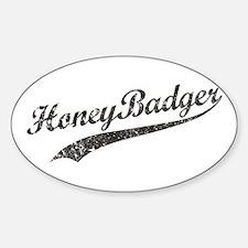 Team Honey Badger [b/w] Stickers