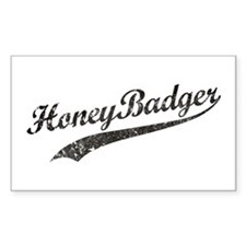 Team Honey Badger [b/w] Decal