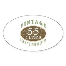 Vintage 55th Birthday Decal