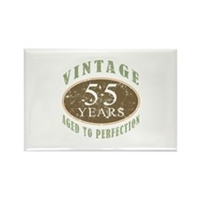 Vintage 55th Birthday Rectangle Magnet
