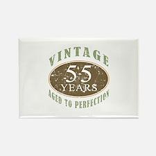 Vintage 55th Birthday Rectangle Magnet