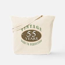 Vintage 55th Birthday Tote Bag