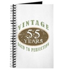 Vintage 55th Birthday Journal