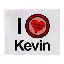 I Love Kevin Brothers & Sisters TV Throw Blanket