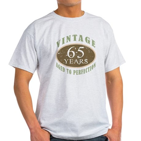 Vintage 65th Birthday Light T-Shirt