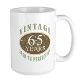 65th anniversary Large Mugs (15 oz)