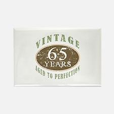 Vintage 65th Birthday Rectangle Magnet