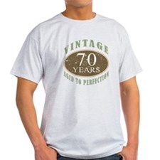 Vintage 70th Birthday T-Shirt