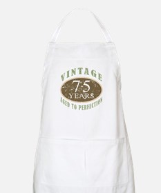 Vintage 75th Birthday Apron