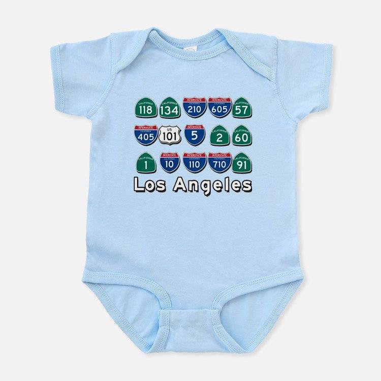 Los Angeles Highways Body Suit