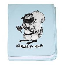 Naturally Ninja baby blanket