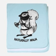 Naturally Ninja baby blanket