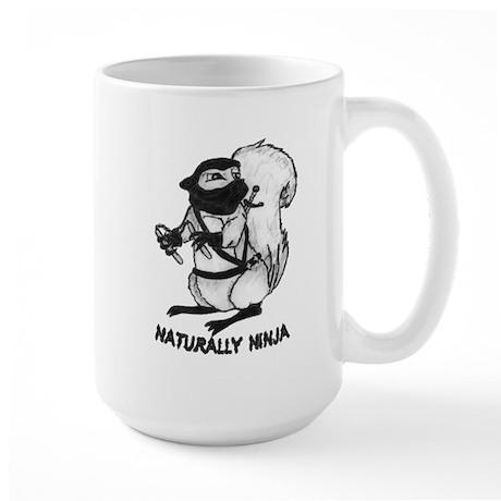 Naturally Ninja Large Mug