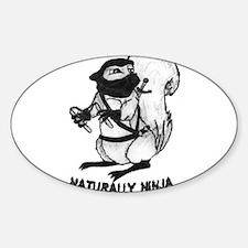 Naturally Ninja Decal