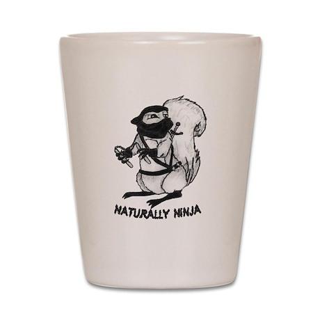 Naturally Ninja Shot Glass