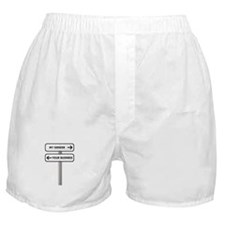 My Gender vs Your Business Boxer Shorts