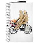 Two on Bike Picnic Basket Journal