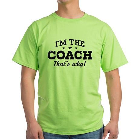 Coach Green T-Shirt