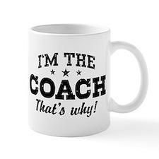 Coach Small Mug