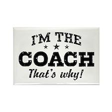 Coach Rectangle Magnet
