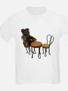 Teddy Bear Bistro Setting T-Shirt