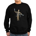 Tangled in USB Sweatshirt (dark)