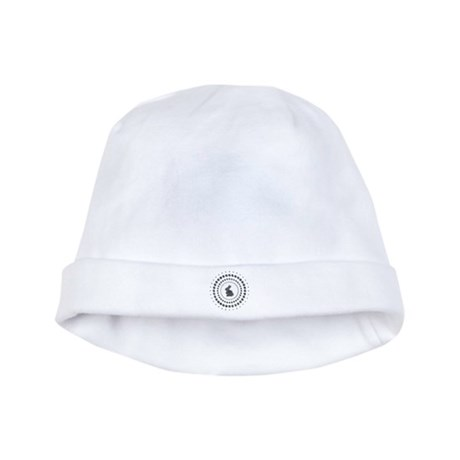 Rabbit Chrome Studs baby hat