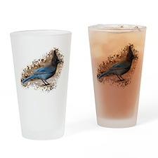 Steller's Jay Drinking Glass