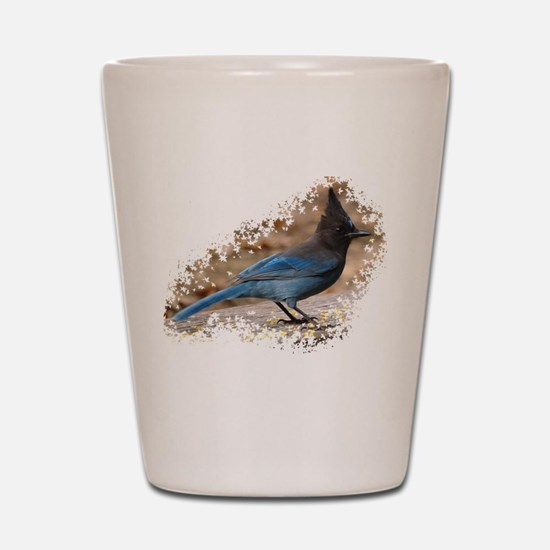 Steller's Jay Shot Glass