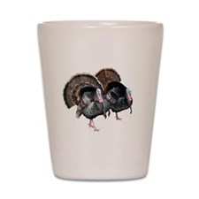 Wild Turkey Pair Shot Glass